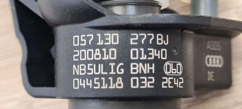 Форсунка топливная Q7 2015- 4M 4.0 TDI