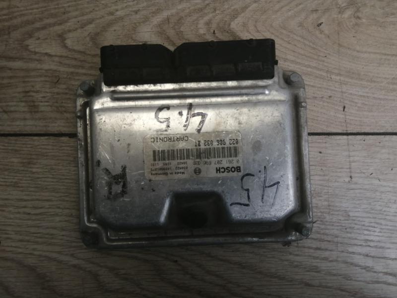 Блок управления двигателя Porsche Cayenne 2003-2006 955 95561860200 контрактная