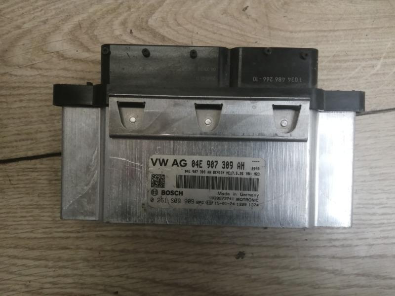 Блок управления ДВС Vw Golf 2014-2021 5G 1.6 MT 04E906057AD контрактная