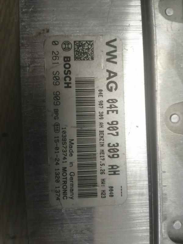Блок управления ДВС Vw Golf 5G 1.6 MT