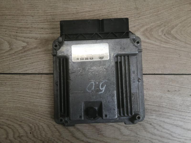 Блок управления двигателя VW Touareg 2003-2010 7L 5.0 TDI 070906016032BT контрактная