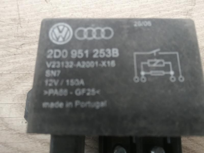 Блок реле VW Touareg 7L