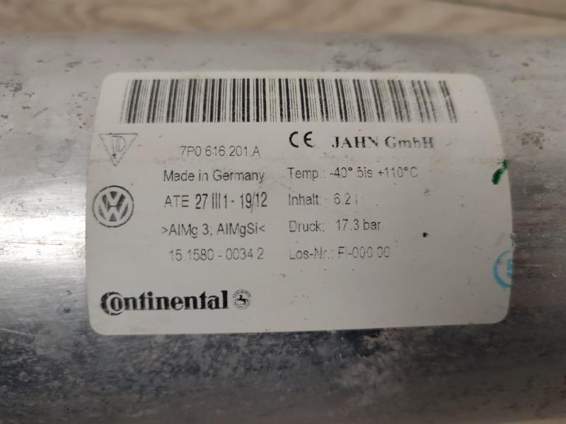 Ресивер воздушный Cayenne 2012 958 (92A) 3.0TDI CRCA