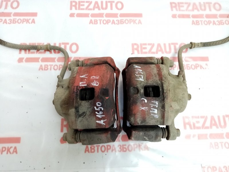 Суппорт тормозной передний левый Mitsubishi Galant EA3A 4G64 MR449855 Б/У