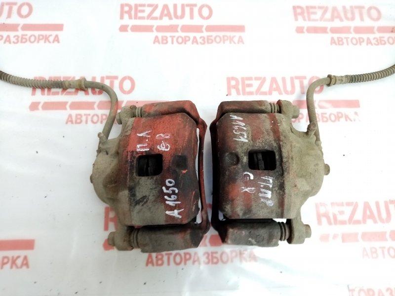 Суппорт тормозной передний правый Mitsubishi Galant EA3A 4G64 MR449856 Б/У