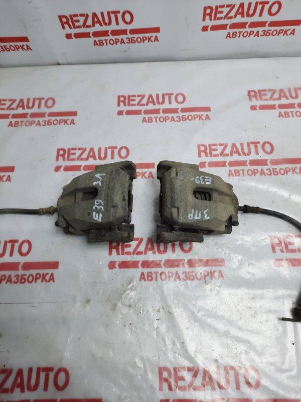 Суппорт тормозной задний левый BMW 5-Series E39 Б/У