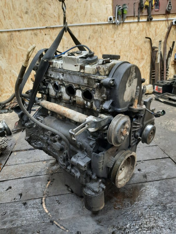 Двигатель в сборе Mitsubishi Galant 2002 4A3A 4G64 Б/У