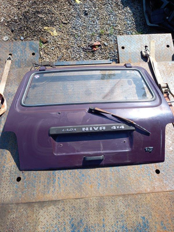 Дверь багажника Lada Niva 2121 Б/У