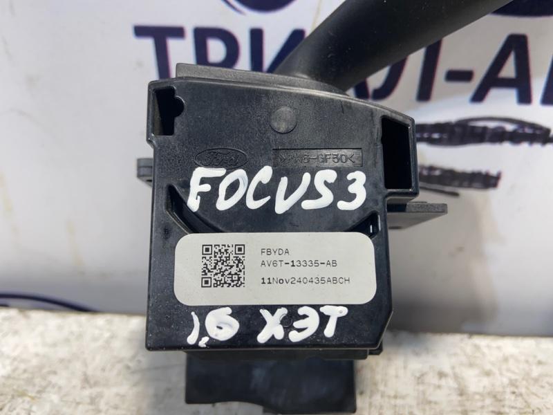 Переключатель поворотов Ford Focus 3 Хэтчбек 16L Duratec Ti-VCT (123PS)