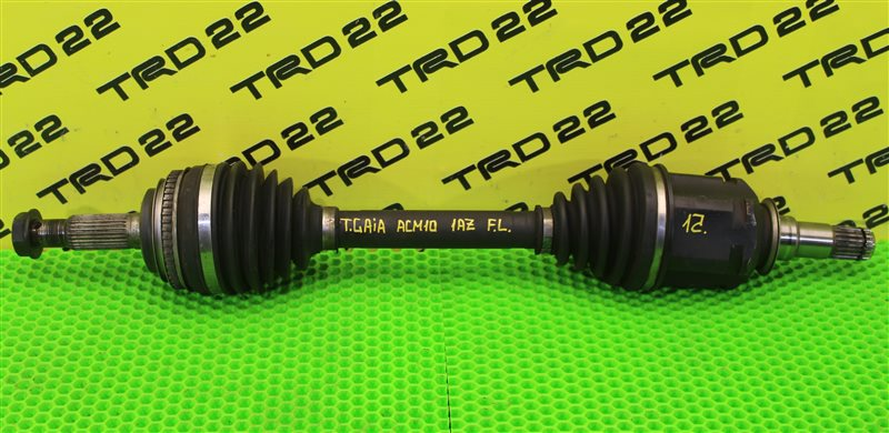 Привод передний левый Toyota Gaia 2002 ACM10 1AZ-FSE 43420-44080 контрактная