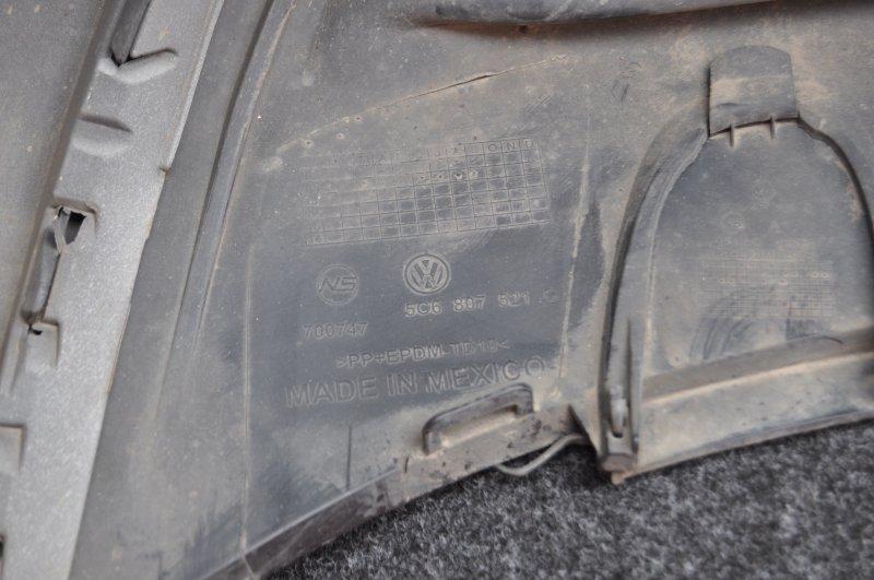 Бампер задний голый Volkswagen Jetta Седан 1.4 Hybrid