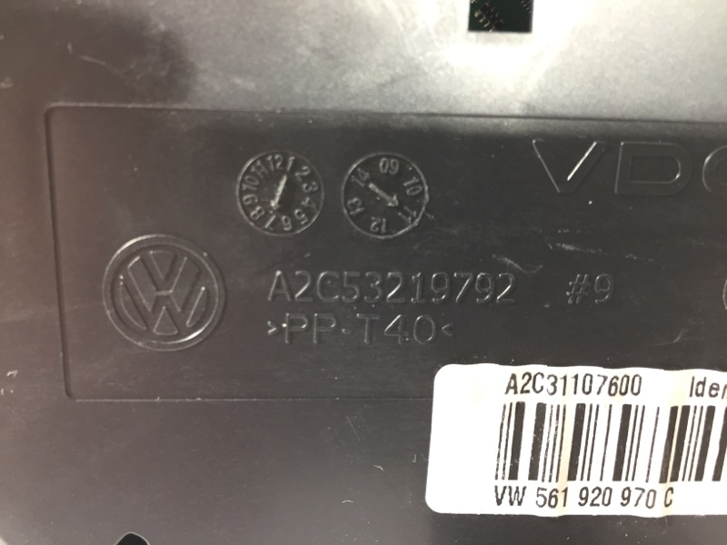 Панель приборов передний Passat B7 Седан