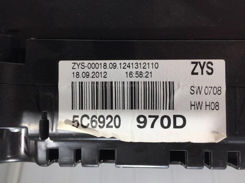 Панель приборов передний Jetta 2013 Седан 1.4 Hybrid