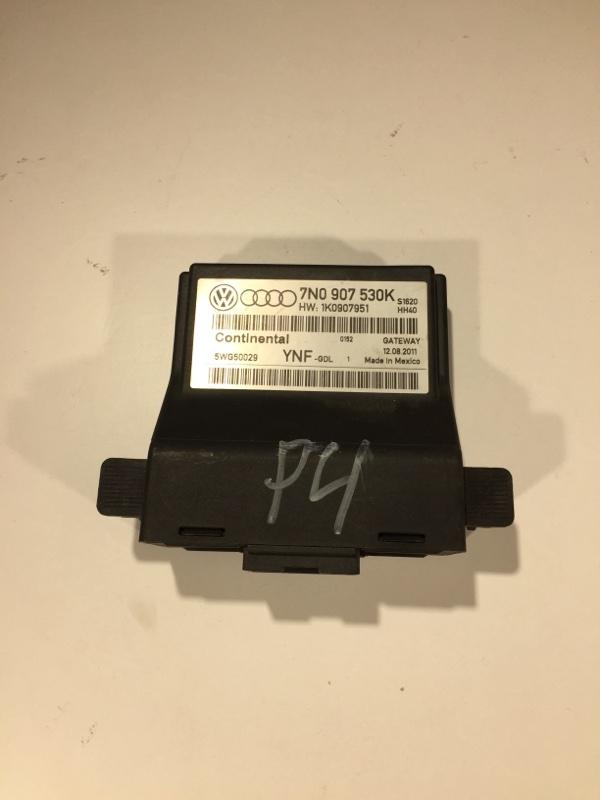 Блок управления межсетевым интерфейсом Volkswagen Passat B7 2012 Седан 2.0L Tdi CKRA 7N0907530K Б/У