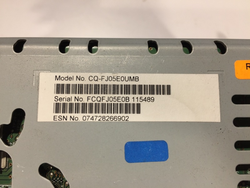 Магнитофон радио передний Fusion Se Hybrid 2017 Седан 2.0