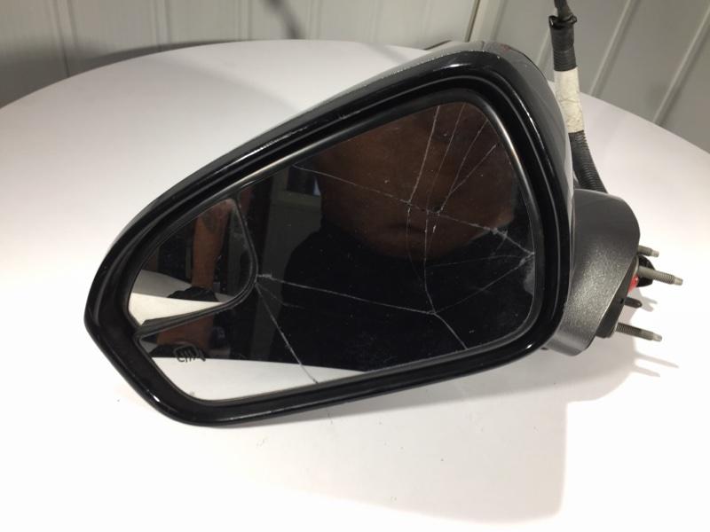Зеркало боковое переднее левое Ford Fusion 2013 Седан 1.6L Eco Boost I-4 Б/У