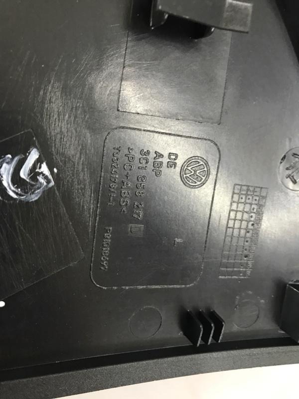 Накладка панели торцевая (заглушка консоли) левая Volkswagen CC 2.0L