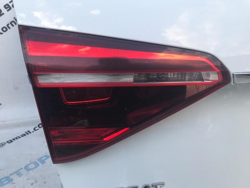 Стоп-сигнал Фонарь задний левый Volkswagen Passat 2017 год B8 1.8 Б/У