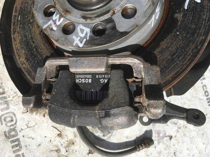 Суппорт тормозной задний левый Passat 2014 год B7 1.8L