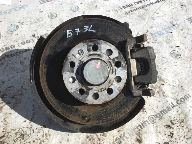 Тормозной диск задний левый Volkswagen Passat 2014 год B7 1.8L Б/У
