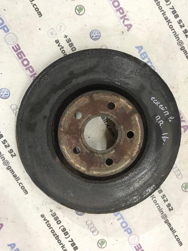 Тормозной диск передний правый Ford Escape 2013 года 1.6 L Б/У