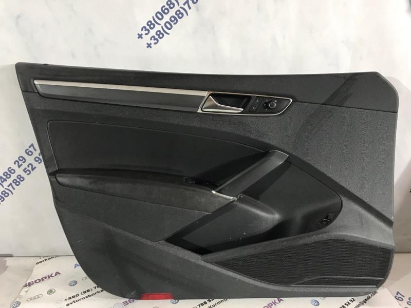 Карта Дверная передняя левая Volkswagen Passat 2017 год B8 1.8 Б/У
