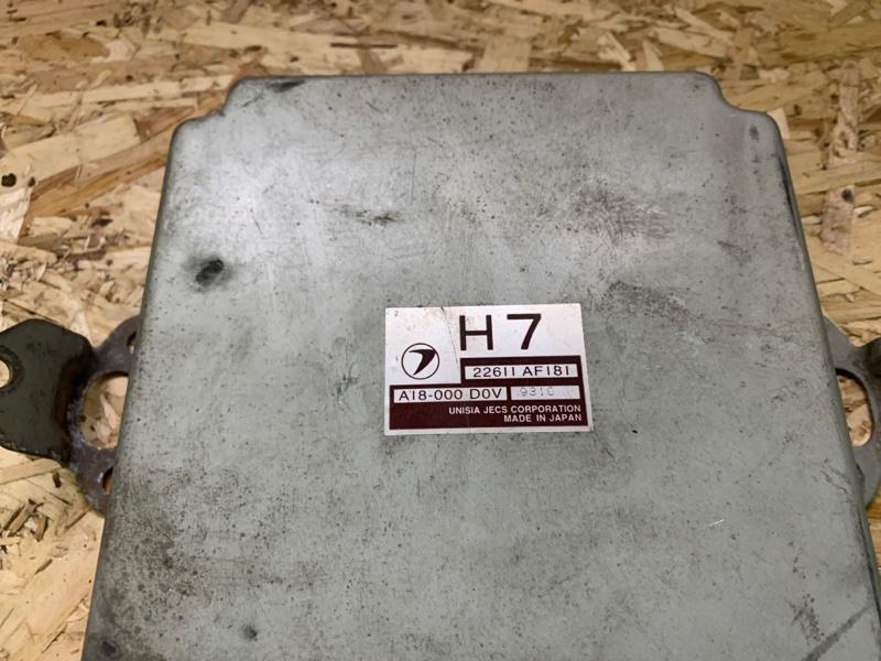 Блок управления двс Subaru Legacy 1999 BE5 ej206 22611af181 контрактная