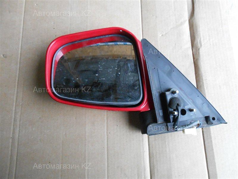 Зеркало левое PAJERO MINI H58A