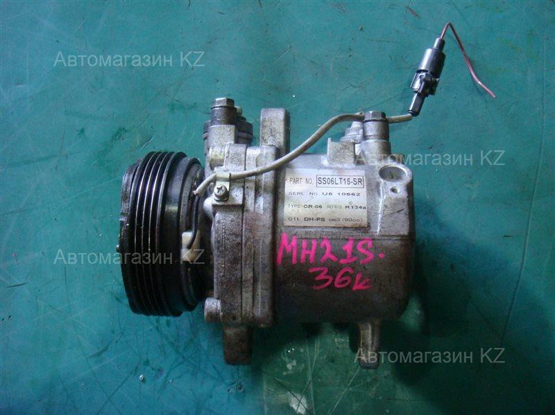 Компрессор кондиционера SUZUKI WAGON R MH21S SS06LT15-SR контрактная