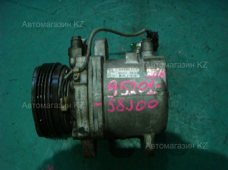 Компрессор кондиционера SUZUKI WAGON R MH21S 95201-58J00 контрактная