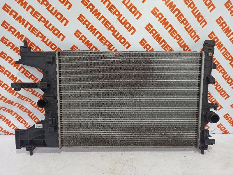 Радиатор охлаждения CHEVROLET CRUZE 2013- 2014 хетчбек 5 дверей 1.6 F16D4 13267650 Б/У