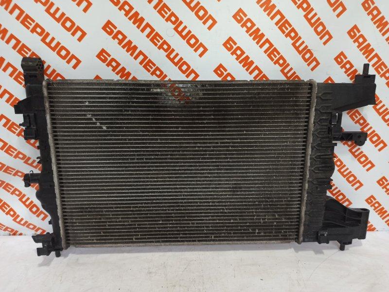 Радиатор охлаждения CHEVROLET CRUZE 2013- хетчбек 5 дверей 1.6 F16D4
