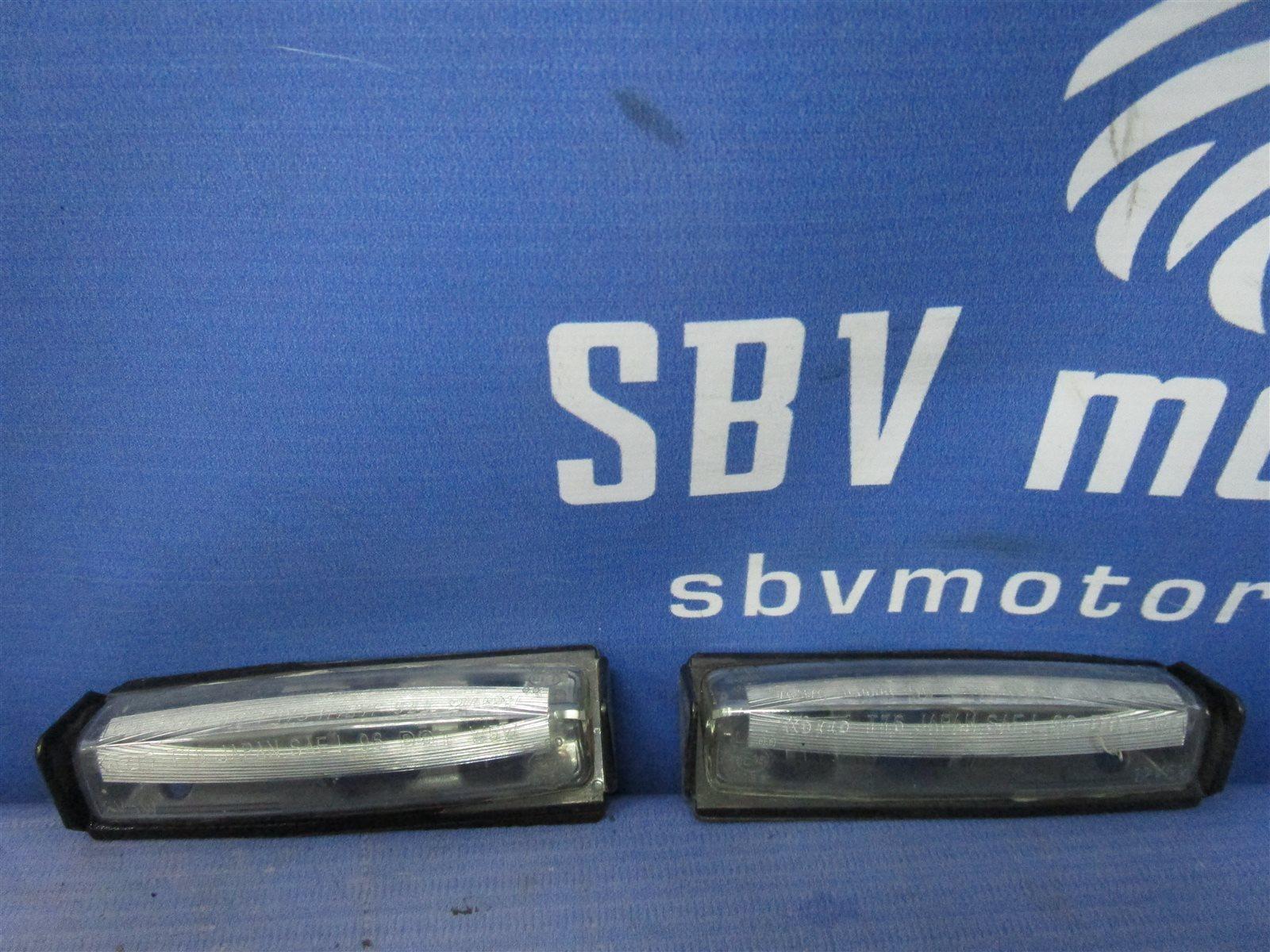 Фонарь освещения номерного знака задний Toyota Camry ACV40 2AZ-FE контрактная