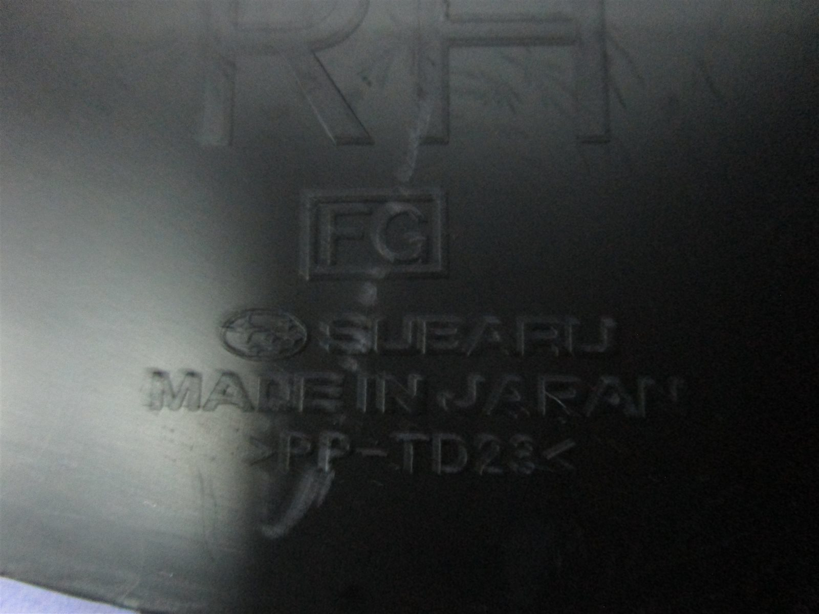 Накладка щитка приборов Forester 2010 SH5 EJ205