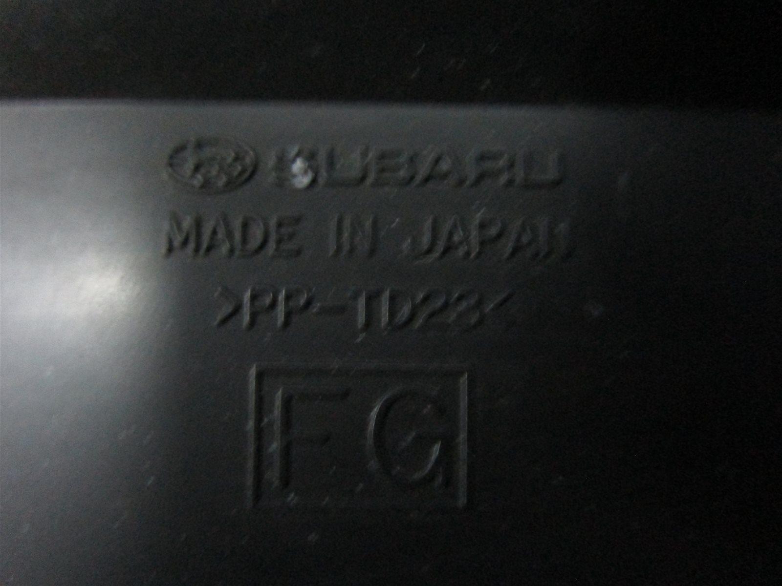 Дефлектор Forester 2010 SH5 EJ205
