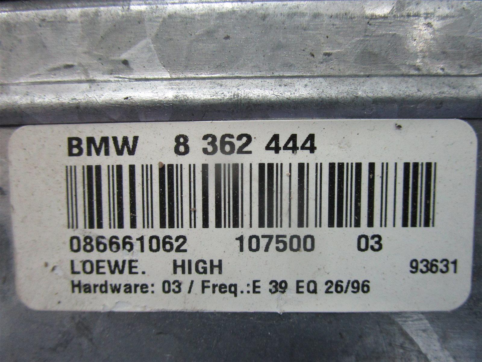 Усилитель акустической системы 5-series 1999 E39 M52 228