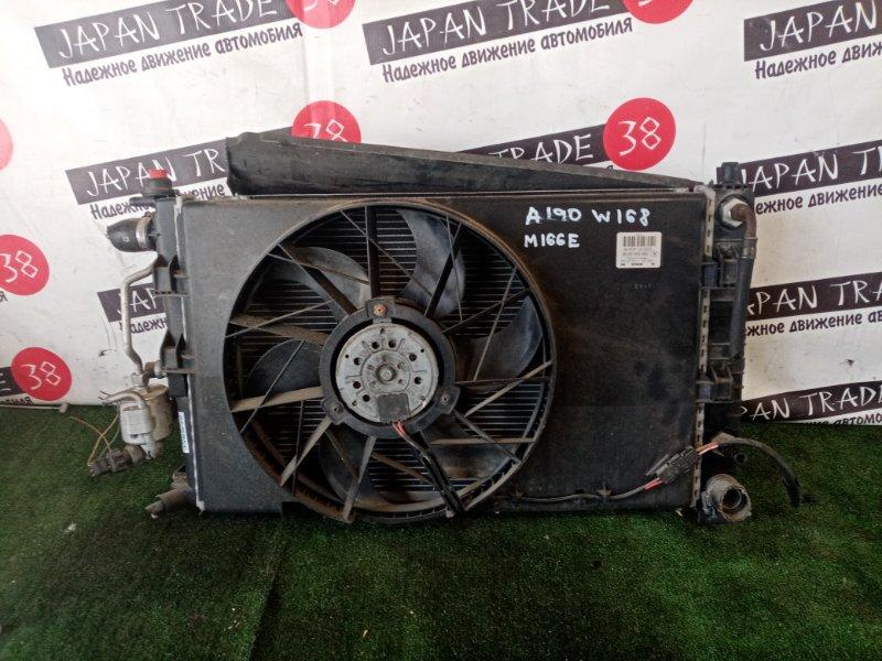 Радиатор охлаждения двигателя MERCEDES-BENZ A-CLASS A190 контрактная
