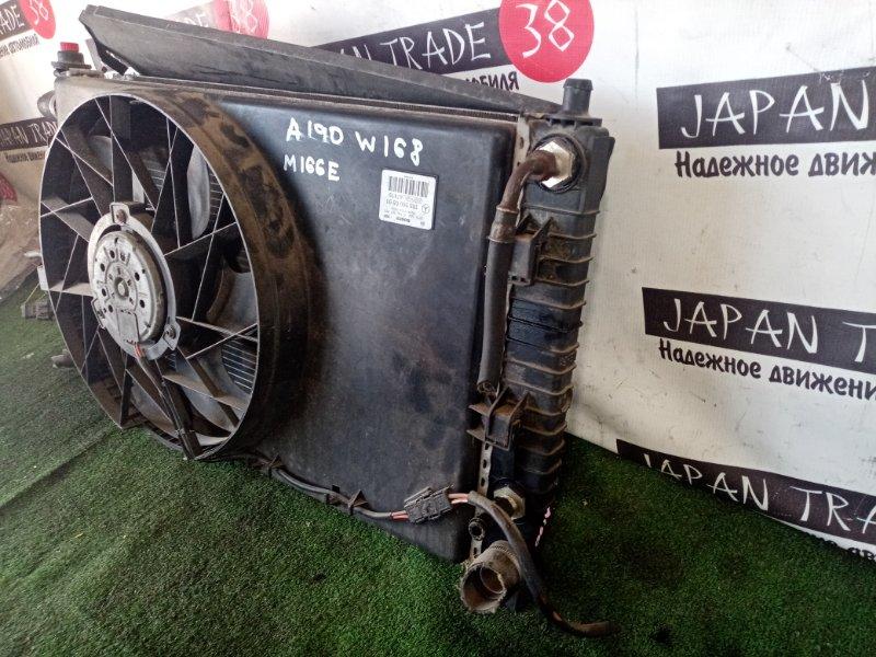 Радиатор охлаждения двигателя MERCEDES-BENZ A-CLASS A190