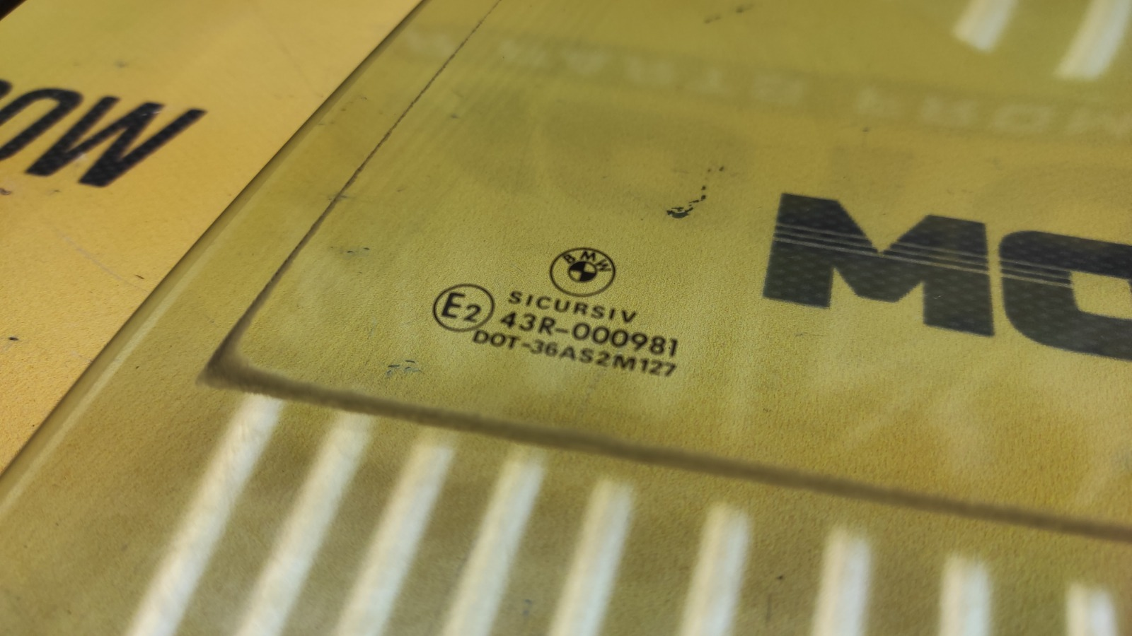 Стекла комплект 1995 E34 M60B30 3.0