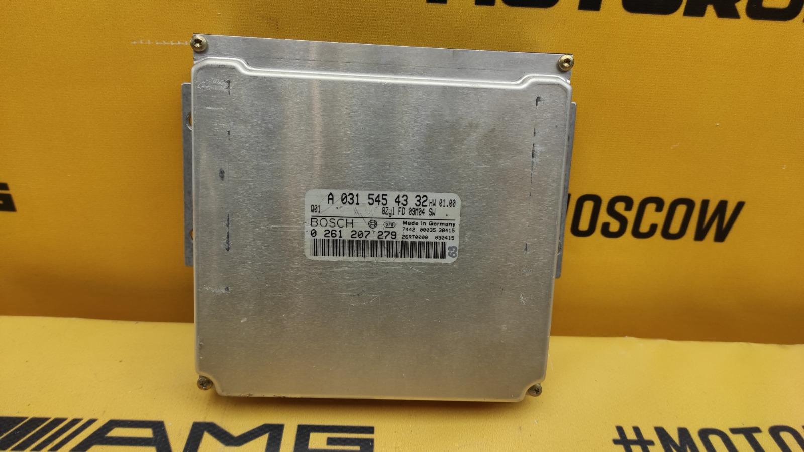 ЭБУ двигателя Mercedes-Benz 2003 W163 M113.981 5.5 0315454332 контрактная