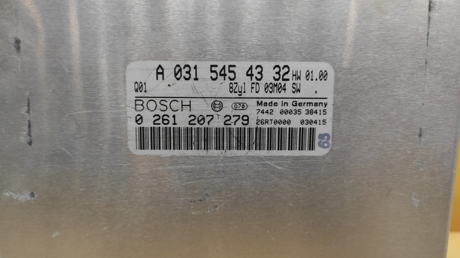 ЭБУ двигателя Mercedes-Benz W163 M113.981 5.5