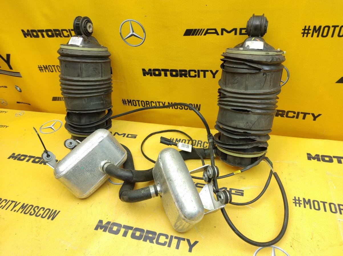 Пневмобаллоны комплект задние Mercedes-Benz W211 2113201525 контрактная
