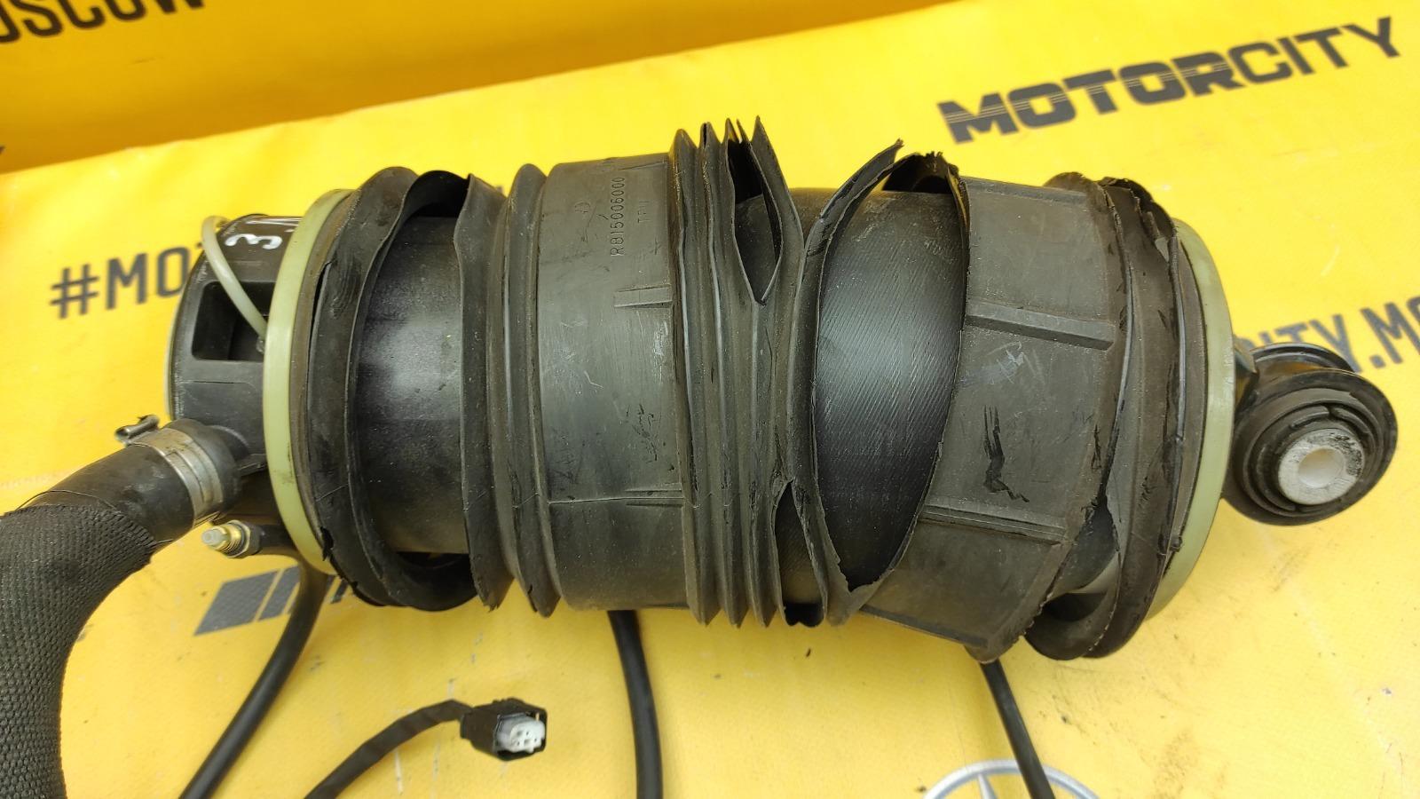 Пневмобаллоны комплект задние W211