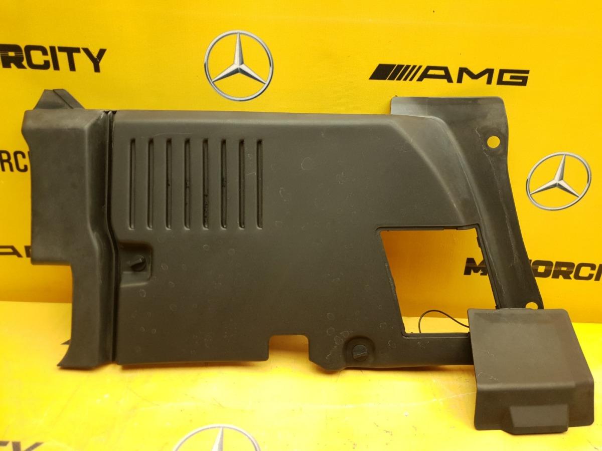 Накладка подкапотная передняя левая Mercedes-Benz 1996 W140 M104.994 3.2 1408202078 контрактная