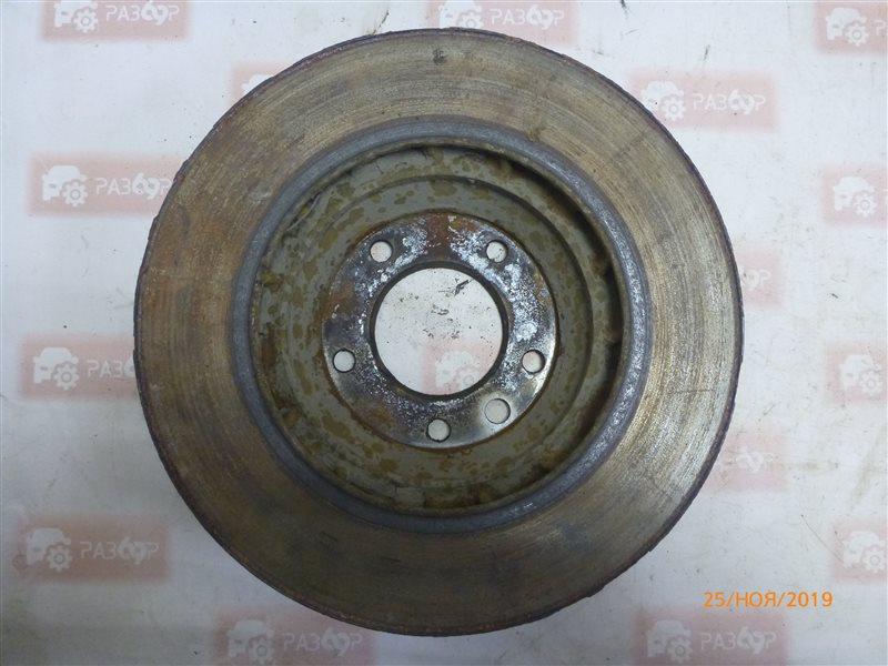 Диск тормозной передний левый Touareg 1 2002-2010 7LA