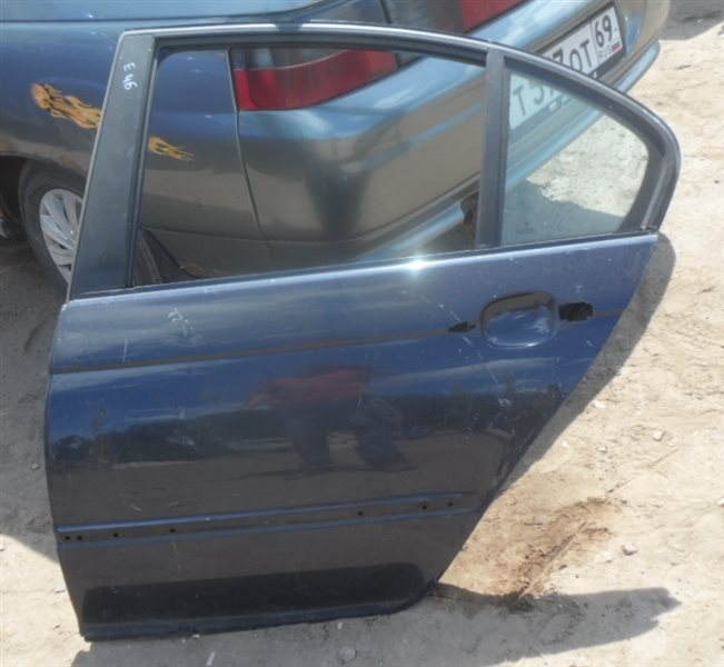 Дверь задняя левая BMW 3-Series 1998-2005 E46 Б/У