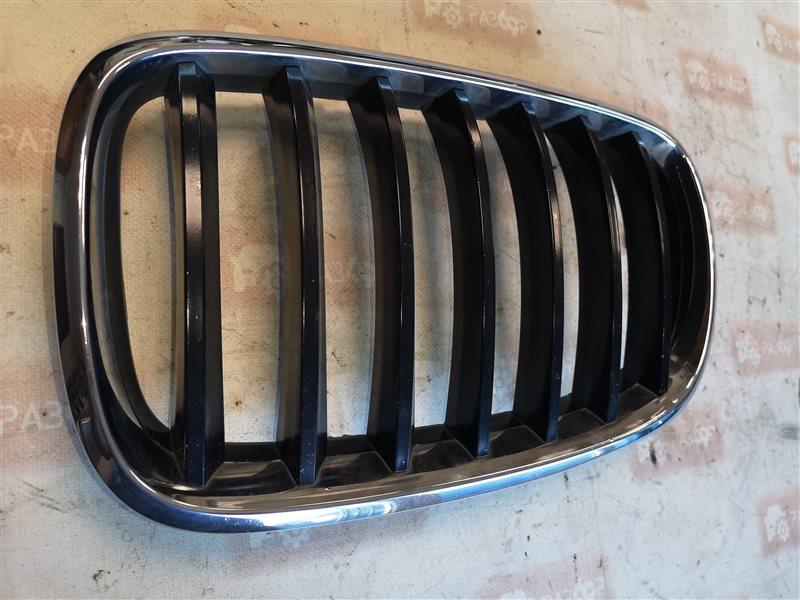 Решетка радиатора передняя левая BMW X5 2007-2014 E70 51317185223 Б/У