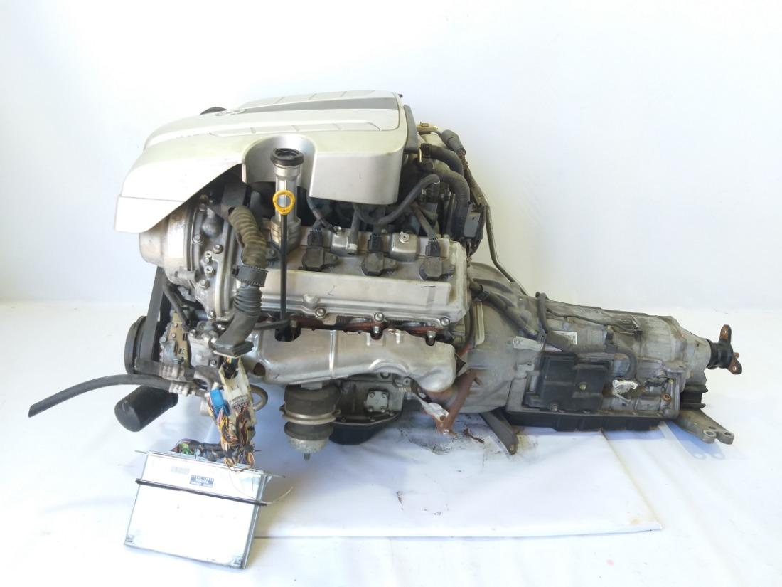 Двигатель Toyota Crown Majesta 2005 UZS186 3UZFE 19000-50B20 контрактная