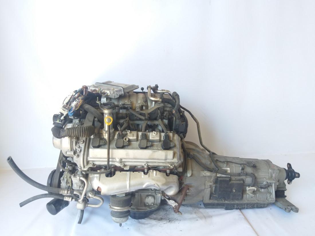 Двигатель пробег 112 000 км Toyota Crown Majesta 2004 UZS186 3UZFE 19000-50B20 контрактная