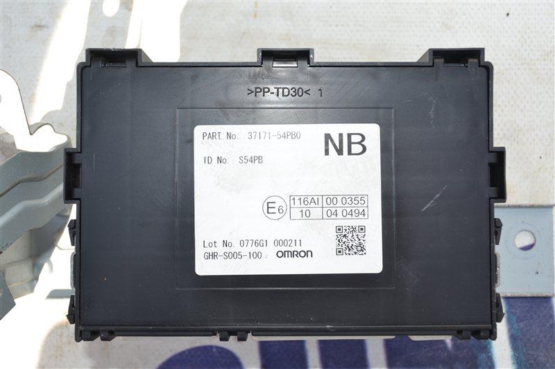 Блок управления SUZUKI ESCUDO 2015 YE21S  M16A  37171-54PB0 контрактная